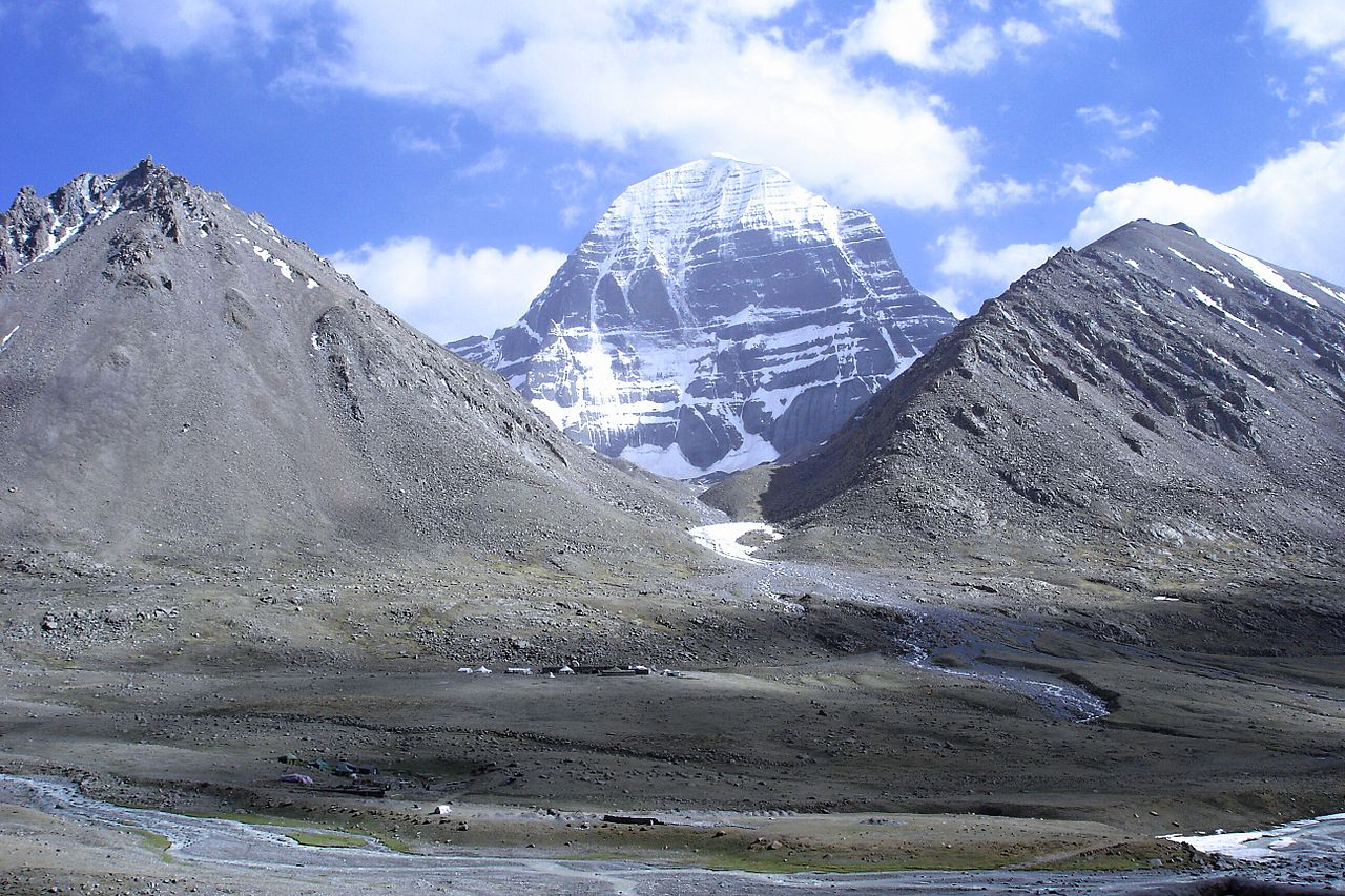 Image 11. View to the northern side of Mt Kailash (Gang Rinpoche) from the Dirapuk Monastery (Tibet Autonomous Region, People's Republic of China). Photo by Ondřej Žváček.