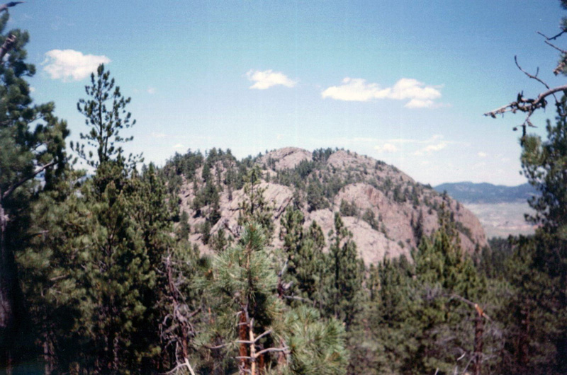 Image 15. Inyan Kara is a sacred mountain to the Lakota [Sioux Indians], [the Black Hills, Crook County, Wyoming, USA]. Photo by Runner1928. (title by author)