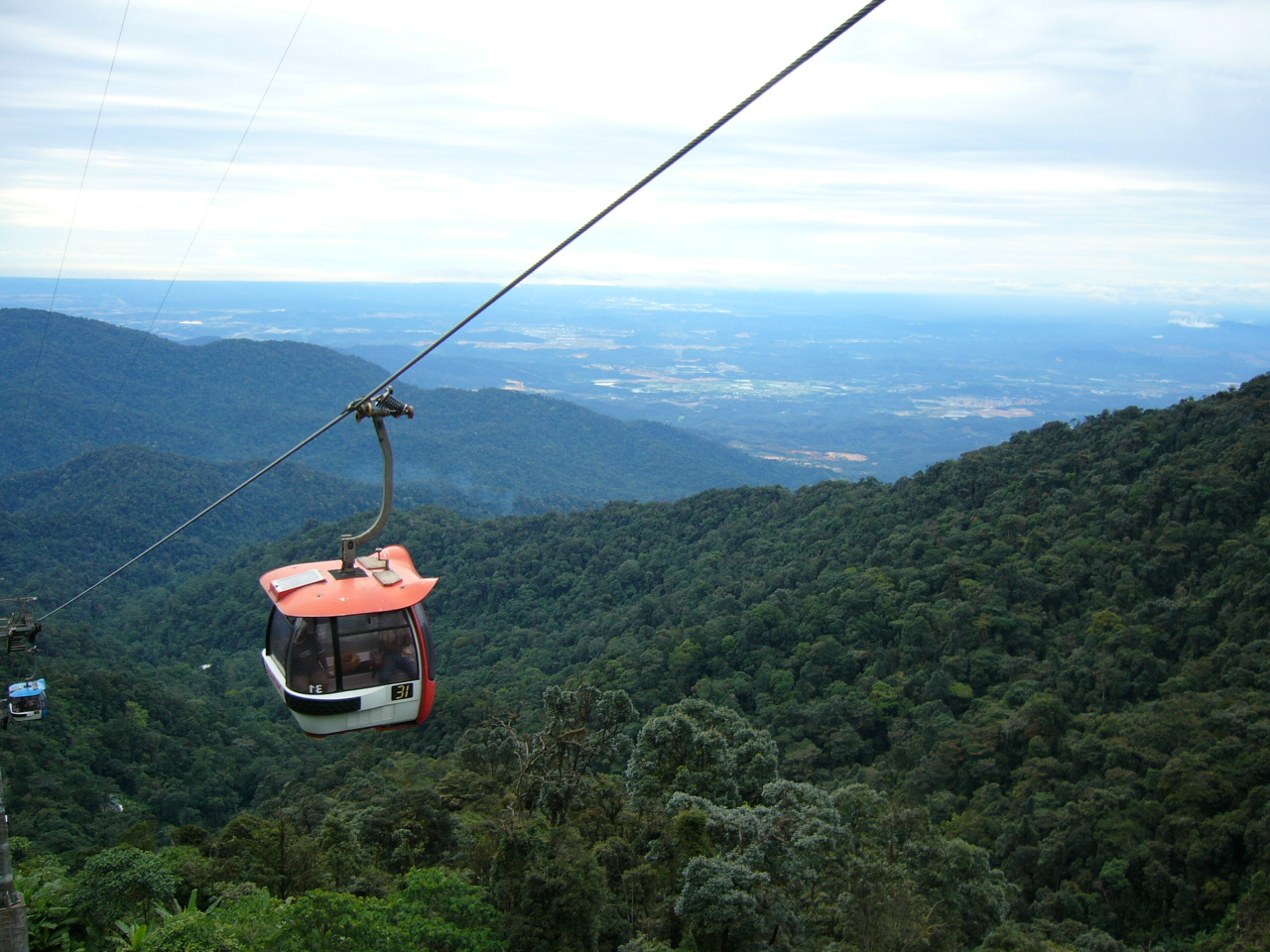 Image 29. [Skyway to the hotel at Highlands Hotel of the ] Genting Highland [Resort,] Malaysia. Photo by Shahnoor Habib Munmun.