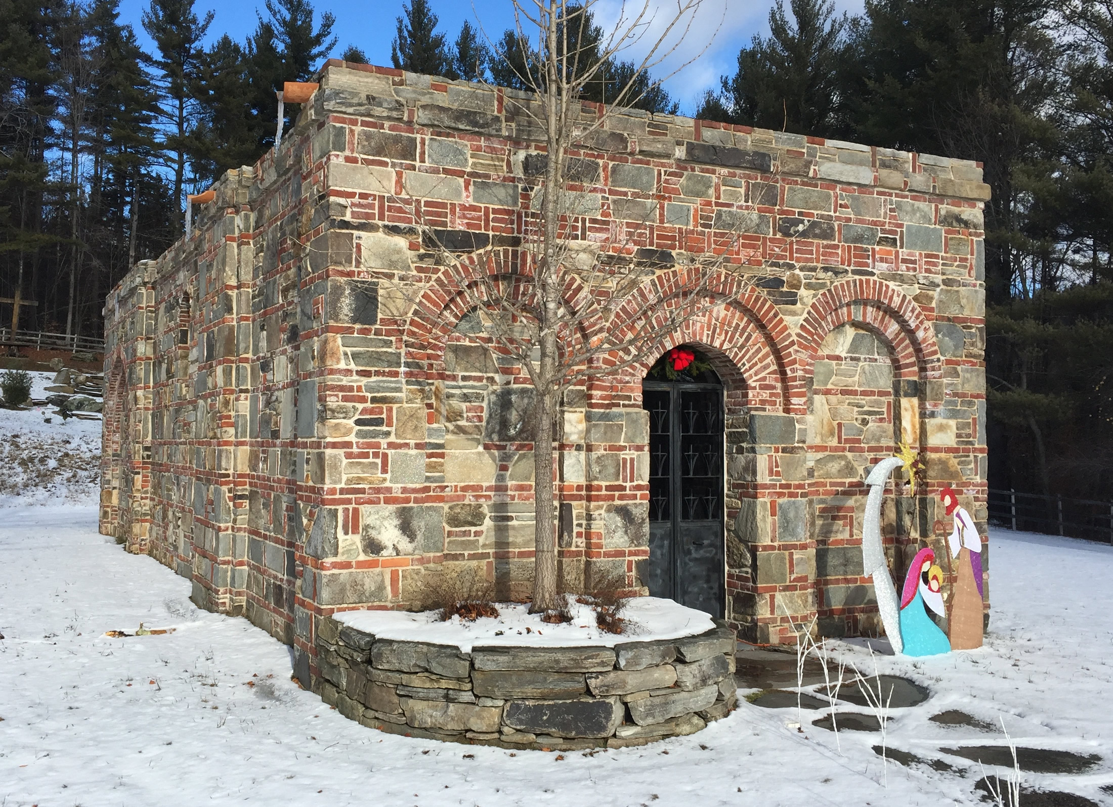 Image 17. Our Lady of Ephesus House of Prayer, Jamaica, Vermont, USA, 1347 foot elevation. Photo by author.