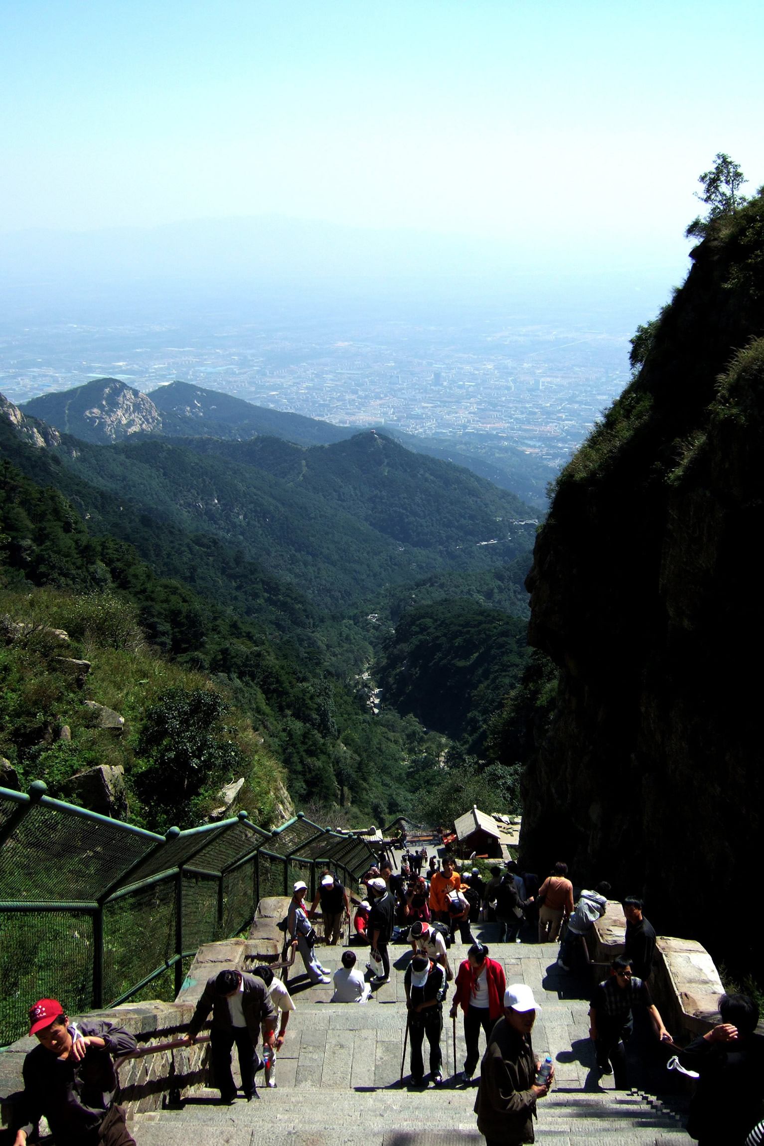 Image 25. Still many steps left [Mount Tai = Tai Shan, Shandong Province, eastern China]. Photo by Charlie fong. (quote from photographer)